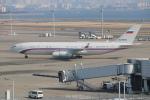 らっしーさんが、羽田空港で撮影したロシア連邦保安庁 Il-96-400VPUの航空フォト(写真)