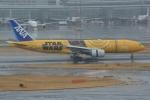 シュウさんが、羽田空港で撮影した全日空 777-281/ERの航空フォト(写真)