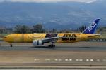 うさぎぱぱさんが、鹿児島空港で撮影した全日空 777-281/ERの航空フォト(写真)
