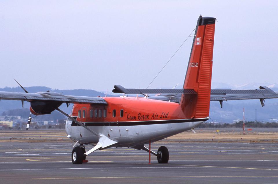 kumagorouさんのケン・ボレックエア De Havilland Canada DHC-6 Twin Otter (C-GCKB) 航空フォト