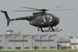 banshee02さんが、宇都宮飛行場で撮影した陸上自衛隊 OH-6Dの航空フォト(飛行機 写真・画像)