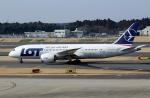 ハピネスさんが、成田国際空港で撮影したLOTポーランド航空 787-8 Dreamlinerの航空フォト(飛行機 写真・画像)