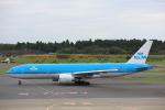 安芸あすかさんが、成田国際空港で撮影したKLMオランダ航空 777-206/ERの航空フォト(写真)