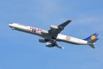 さくらの城南山。さんが、羽田空港で撮影したルフトハンザドイツ航空 A340-642の航空フォト(飛行機 写真・画像)