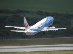 おっつんさんが、新石垣空港で撮影した日本トランスオーシャン航空 737-4Q3の航空フォト(写真)