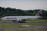 tasho0525さんが、成田国際空港で撮影したカタール航空 777-2DZ/LRの航空フォト(写真)