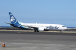 徳兵衛さんが、コナ国際空港で撮影したアラスカ航空 737-890の航空フォト(写真)