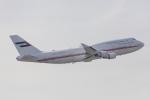 たーぼーさんが、羽田空港で撮影したドバイ・ロイヤル・エア・ウィング 747-422の航空フォト(写真)