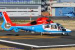 Chofu Spotter Ariaさんが、東京ヘリポートで撮影した川崎市消防航空隊 AS365N3 Dauphin 2の航空フォト(飛行機 写真・画像)