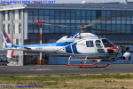 Chofu Spotter Ariaさんが、東京ヘリポートで撮影した中日本航空 AS355F2 Ecureuil 2の航空フォト(飛行機 写真・画像)