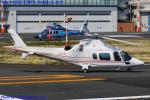 Chofu Spotter Ariaさんが、東京ヘリポートで撮影した日本個人所有 A109E Powerの航空フォト(飛行機 写真・画像)