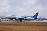 ひこ☆さんが、中部国際空港で撮影したウズベキスタン航空 A320-214の航空フォト(写真)