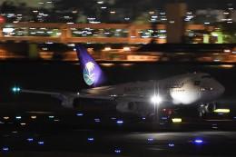 B747‐400さんが、羽田空港で撮影したサウジアラビア王国政府 747SP-68の航空フォト(飛行機 写真・画像)
