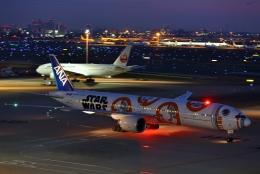 リリココさんが、羽田空港で撮影した全日空 777-381/ERの航空フォト(飛行機 写真・画像)