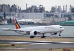 mojioさんが、羽田空港で撮影したフィリピン航空 777-3F6/ERの航空フォト(飛行機 写真・画像)