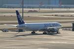 ふじいあきらさんが、羽田空港で撮影したエアーニッポン 767-381/ERの航空フォト(飛行機 写真・画像)