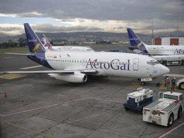 Quihuboさんが、マリスカル・スクレ国際空港で撮影したアエロガル 737-281/Advの航空フォト(飛行機 写真・画像)