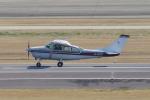 yabyanさんが、名古屋飛行場で撮影した朝日航空 TU206G Turbo Stationair 6の航空フォト(飛行機 写真・画像)