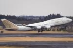 船舶妖夢さんが、成田国際空港で撮影したアトラス航空 747-481の航空フォト(写真)