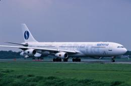 サンドバンクさんが、成田国際空港で撮影したサベナ・ベルギー航空 A340-311の航空フォト(飛行機 写真・画像)