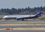 じーく。さんが、成田国際空港で撮影したアエロフロート・ロシア航空 A330-343Xの航空フォト(飛行機 写真・画像)