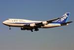 にしやんさんが、成田国際空港で撮影した全日空 747-481の航空フォト(写真)