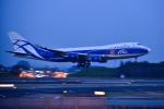 パンダさんが、成田国際空港で撮影したエアブリッジ・カーゴ・エアラインズ 747-4HAF/ER/SCDの航空フォト(飛行機 写真・画像)