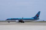 yabyanさんが、静岡空港で撮影した大韓航空 737-8Q8の航空フォト(飛行機 写真・画像)