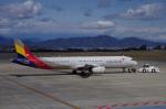 yabyanさんが、静岡空港で撮影したアシアナ航空 A321-231の航空フォト(写真)