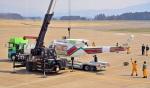 marimariさんが、花巻空港で撮影した岩手県防災航空隊 412EPの航空フォト(写真)