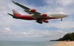 hs-tgjさんが、プーケット国際空港で撮影したロシア航空 747-446の航空フォト(写真)