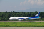 yabyanさんが、秋田空港で撮影した全日空 777-281/ERの航空フォト(飛行機 写真・画像)