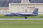 yabyanさんが、嘉手納飛行場で撮影したアメリカ空軍 F-15C-38-MC Eagleの航空フォト(写真)