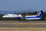 EXIA01さんが、大島空港で撮影したANAウイングス DHC-8-314Q Dash 8の航空フォト(写真)