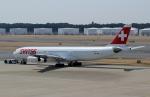 ハピネスさんが、成田国際空港で撮影したスイスインターナショナルエアラインズ A340-313Xの航空フォト(飛行機 写真・画像)