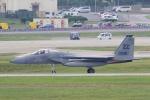 yabyanさんが、嘉手納飛行場で撮影したアメリカ空軍 F-15C-37-MC Eagleの航空フォト(写真)