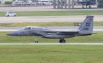 yabyanさんが、嘉手納飛行場で撮影したアメリカ空軍 F-15C-40-MC Eagleの航空フォト(写真)