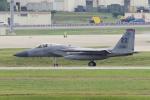yabyanさんが、嘉手納飛行場で撮影したアメリカ空軍 F-15C-35-MC Eagleの航空フォト(飛行機 写真・画像)