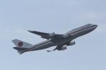 ANA744Foreverさんが、羽田空港で撮影した航空自衛隊 747-47Cの航空フォト(飛行機 写真・画像)
