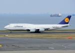 じーく。さんが、羽田空港で撮影したルフトハンザドイツ航空 747-830の航空フォト(飛行機 写真・画像)