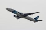 ハピネスさんが、関西国際空港で撮影したエジプト航空 777-36N/ERの航空フォト(飛行機 写真・画像)