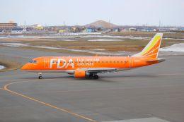 NASDAJAXAさんが、札幌飛行場で撮影したフジドリームエアラインズ ERJ-170-200 (ERJ-175STD)の航空フォト(写真)