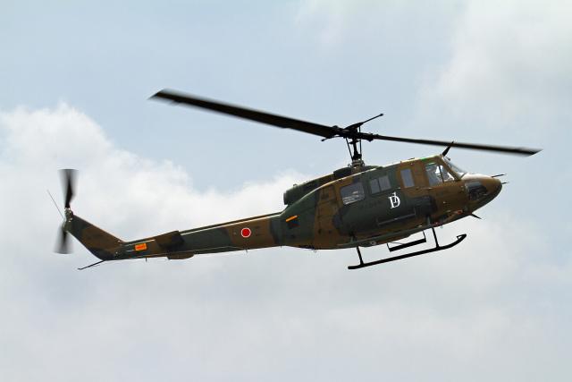 りんたろうさんが、駒門駐屯地で撮影した陸上自衛隊 UH-1Jの航空フォト(飛行機 写真・画像)