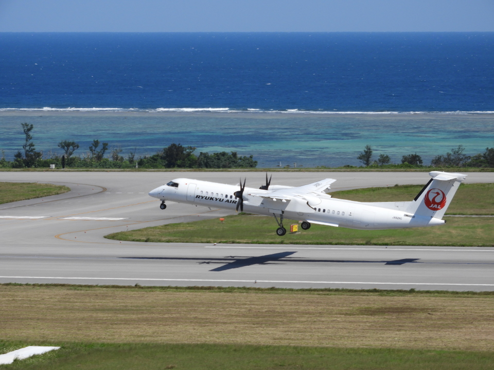 おっつんさんの琉球エアーコミューター Bombardier DHC-8-400 (JA82RC) 航空フォト