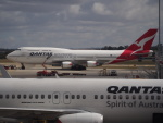 ken1☆MYJさんが、メルボルン空港で撮影したカンタス航空 747-438/ERの航空フォト(写真)