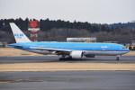 kumagorouさんが、成田国際空港で撮影したKLMオランダ航空 777-206/ERの航空フォト(写真)