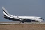 yabyanさんが、中部国際空港で撮影したアメリカ個人所有 737-7JV BBJの航空フォト(飛行機 写真・画像)