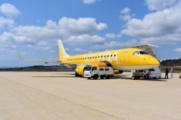 hide737さんが、隠岐空港で撮影したフジドリームエアラインズ ERJ-170-200 (ERJ-175STD)の航空フォト(飛行機 写真・画像)