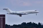 パンダさんが、成田国際空港で撮影したユタ銀行 BD-700-1A10 Global 6000の航空フォト(写真)
