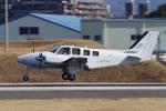 yabyanさんが、名古屋飛行場で撮影した朝日航空 G58 Baronの航空フォト(写真)